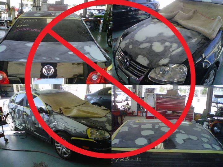 Побило машину градом – ремонт в Ростове