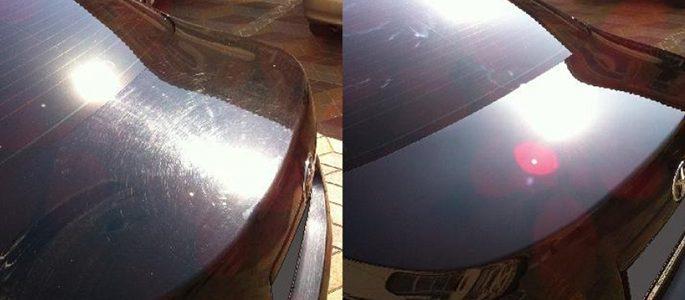 Полировка царапин на автомобиле