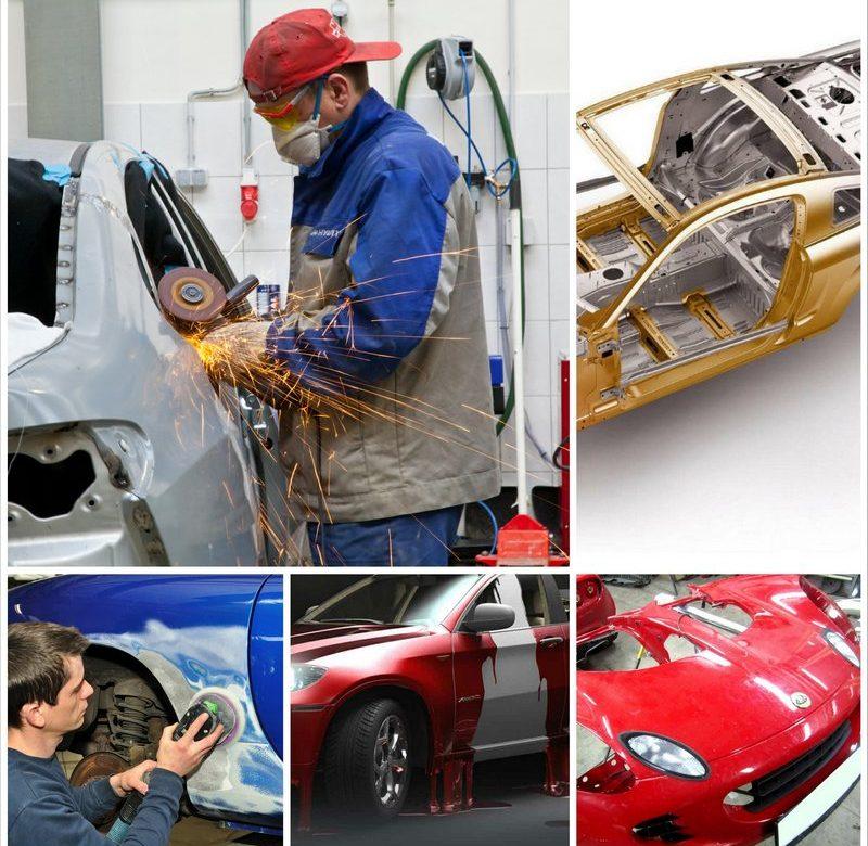 Виды кузовного ремонта